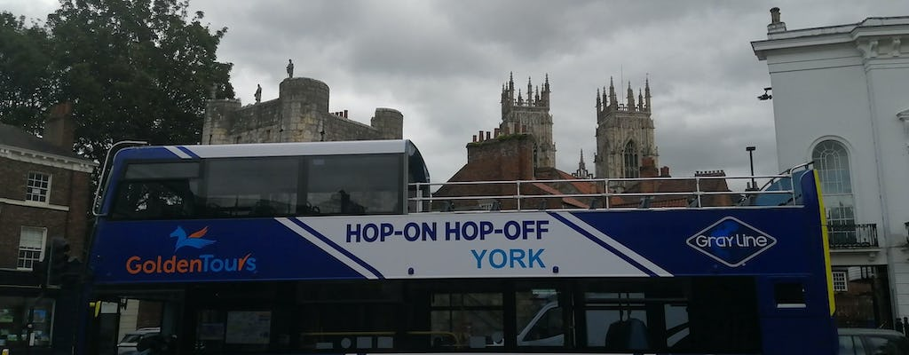 York Hop-on-hop-off Open-Top Tour – 1 day ticket