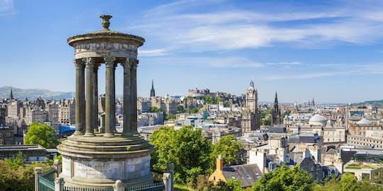 Guided group walking tour of Edinburgh