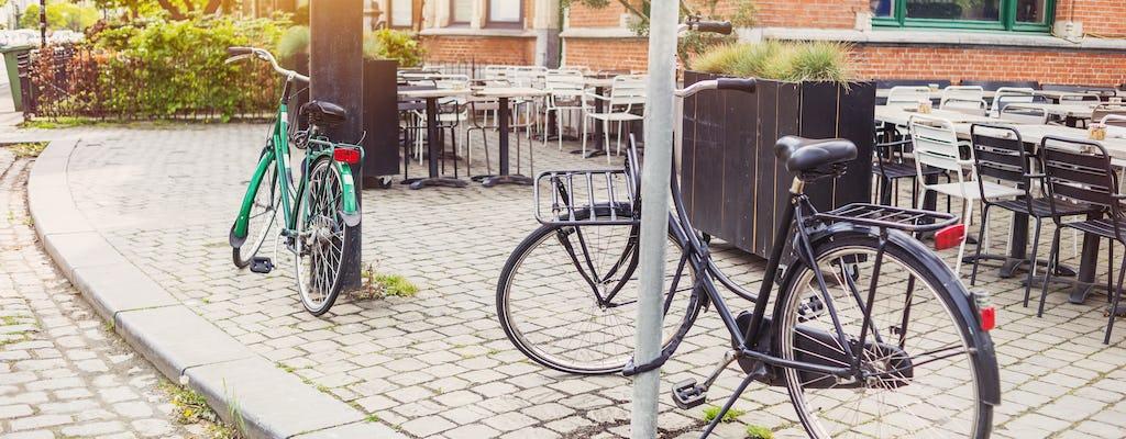 Passeio de bicicleta particular pela Antuérpia, além do centro da cidade