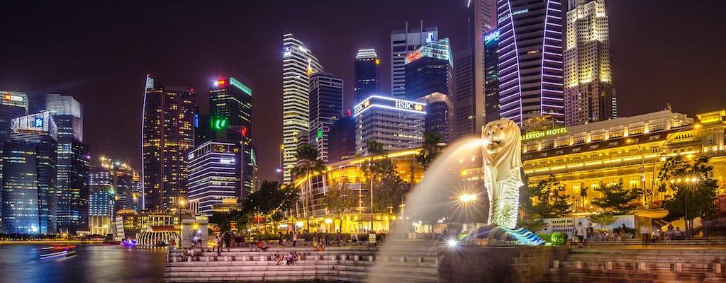 Passeio guiado por áudio a pé em Cingapura