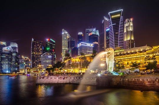 Tour audio guidato a piedi di Singapore
