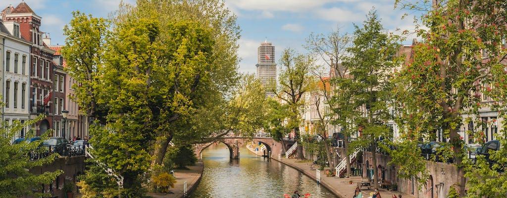 1.5-hour Utrecht canal cruise