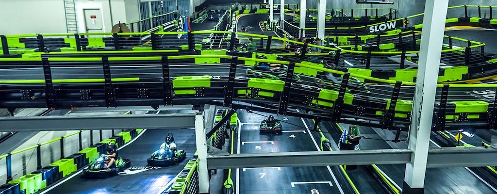 Indoor go-kart experience