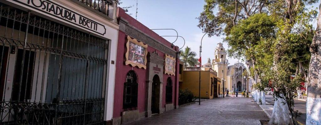 Археологический комплекс Пачакамак, Пантанос де Вилла и частный тур Барранко