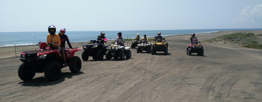 Tour en cuatrimoto por la playa de Chachalacas