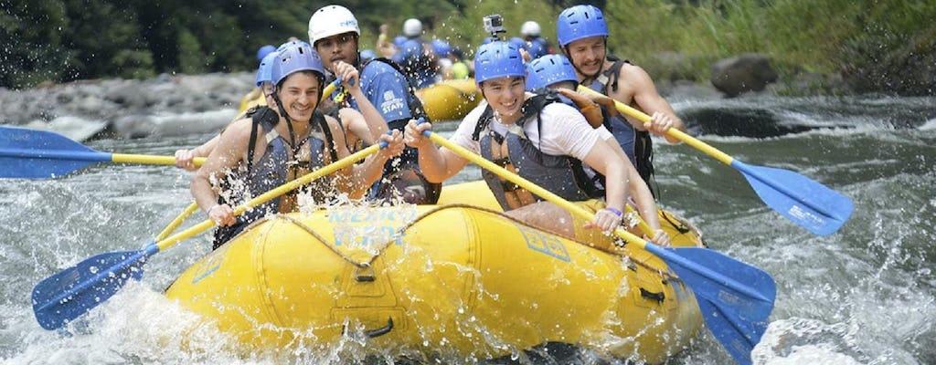 Jacomulco rafting i zjazd na linie