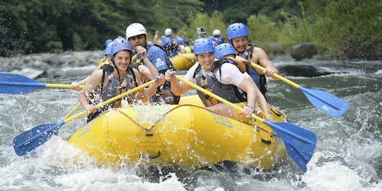 Jacomulco rafting and rappelling adventure