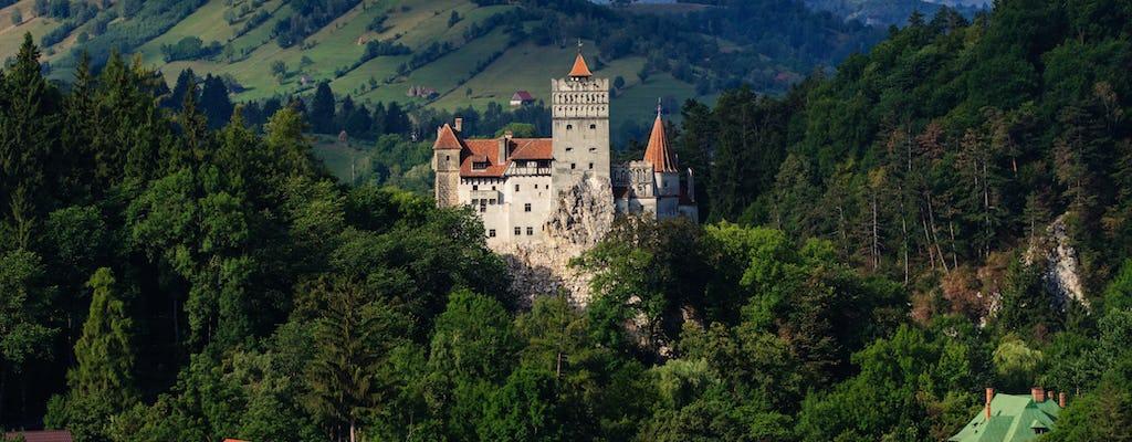 Passeio em grupo pelo Castelo de Drácula, Peles e centro histórico de Brasov
