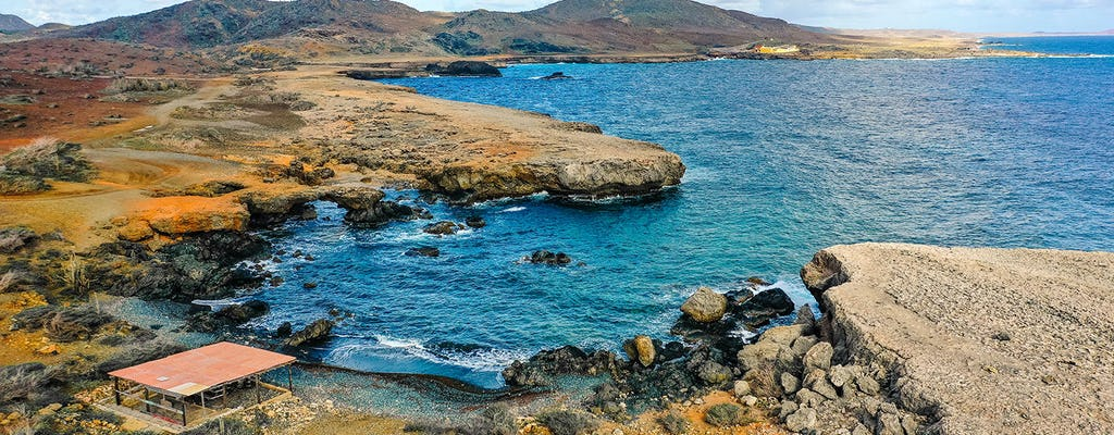 Volle dag off-road avontuur op Aruba met snorkelen en flamingo's bekijken