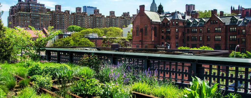 Нью-Йорке Хай-Лайн и Хадсон ярдов пешеходная экскурсия