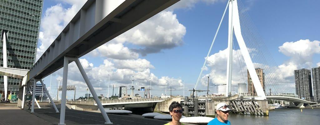 Customizable private running tour in Rotterdam