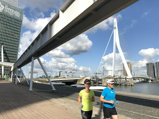 Customizable private running tour in Rotterdam