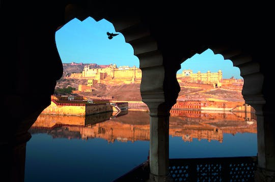 Jaipur's palace and fort tour from Delhi