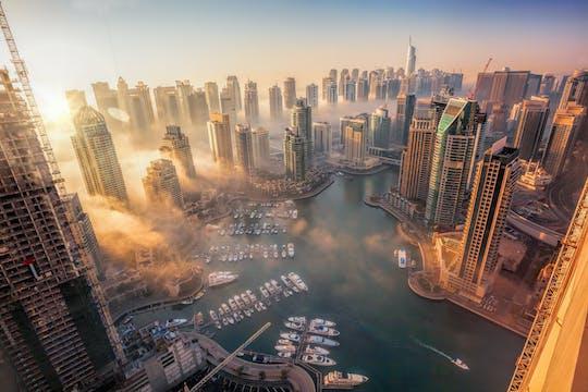 Passeio pelas dunas pela manhã, passeio cultural em Dubai e cruzeiro com jantar em dhow de 1 dia