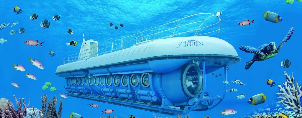 Expedición submarina Atlantis en Aruba