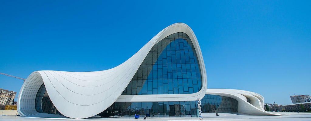 Visita guiada privada al casco antiguo y moderno de Bakú