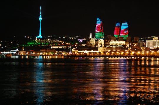Baku geführte Nacht Stadtrundfahrt