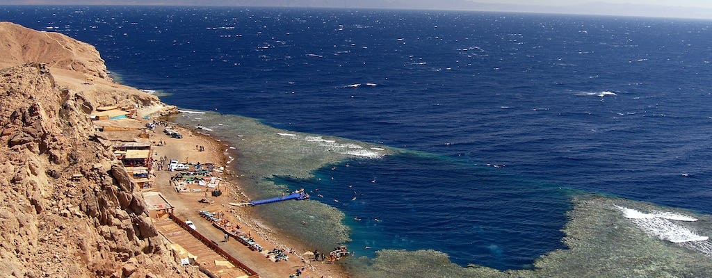 Blue Hole snorkeling, 4x4 safari and Dahab tour with sea food lunch