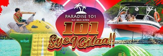 Paradise 101 - Langkawi-Syog Gilaa - ticket de entrada