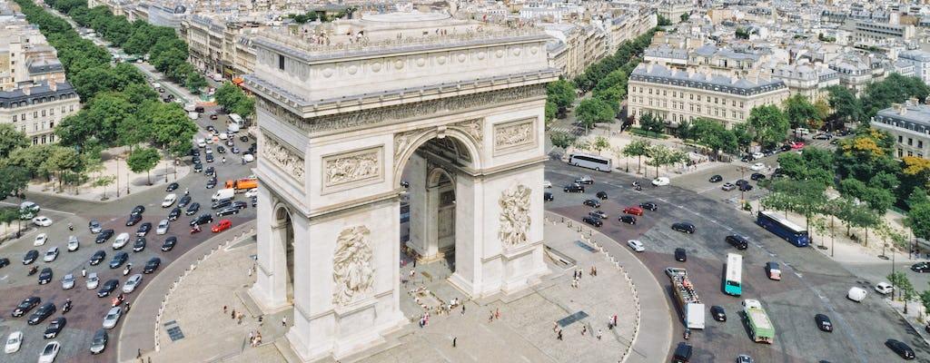 Bilhetes combinados para o Museu do Louvre, Arco do Triunfo, cruzeiro no rio e almoço