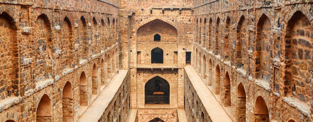 Excursion d'une demi-journée à Agrasen ki Baoli et Dhobi Ghat à Delhi