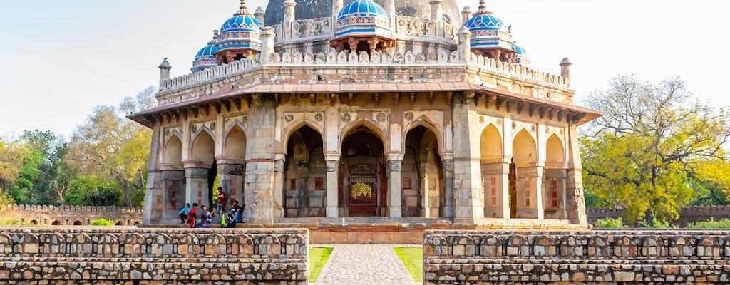 Passeio a pé por Nizamuddin, incluindo a Tumba de Humayun e o Berçário Sunder
