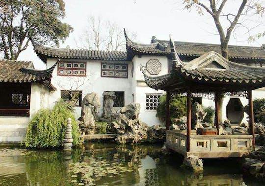 Весь день частный тур Сучжоу, затянувшийся сад и город на воде Чжоучжуан Шанхай