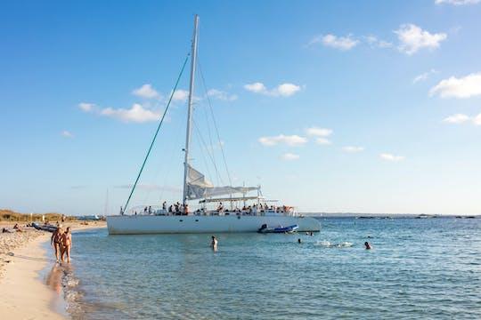 Journée en catamaran à Ibiza