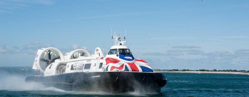 Hovercraft-vlucht retourtransfer naar het Isle of Wight