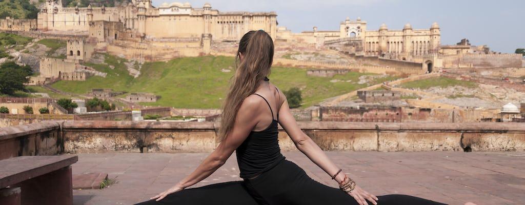 Revitalisation par le yoga à Jaipur