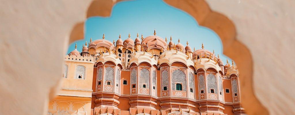 Explorer la ville rose à vélo et à pied à Jaipur
