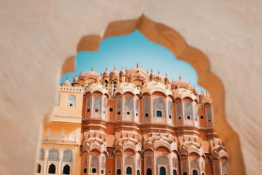 Exploring Pink City by cycle and on foot in Jaipur