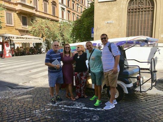 Full-day Rome golf cart tour