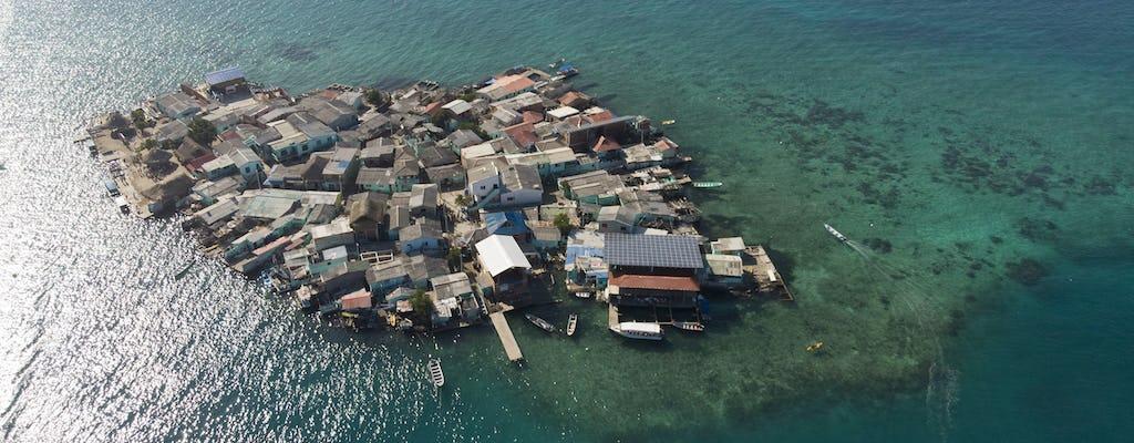 Остров мукура и Сан-Бернардо Корал тур парк лодок