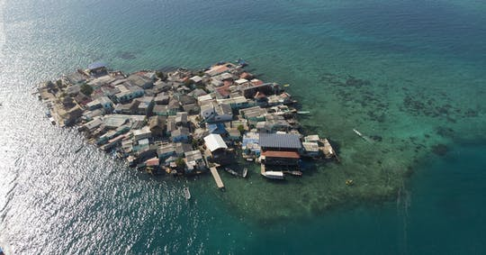 Mucura Island and San Bernardo Coral Park boat tour