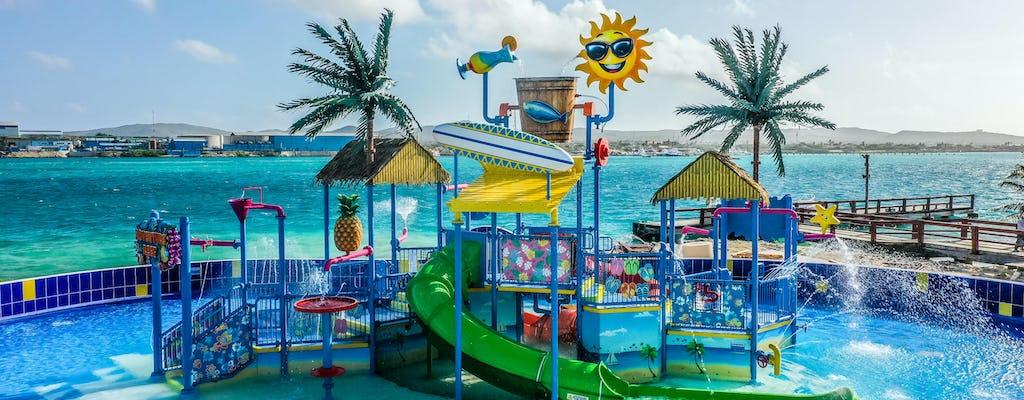 Bilhetes para o parque aquático De Palm Island com tudo incluído e traslados de ônibus