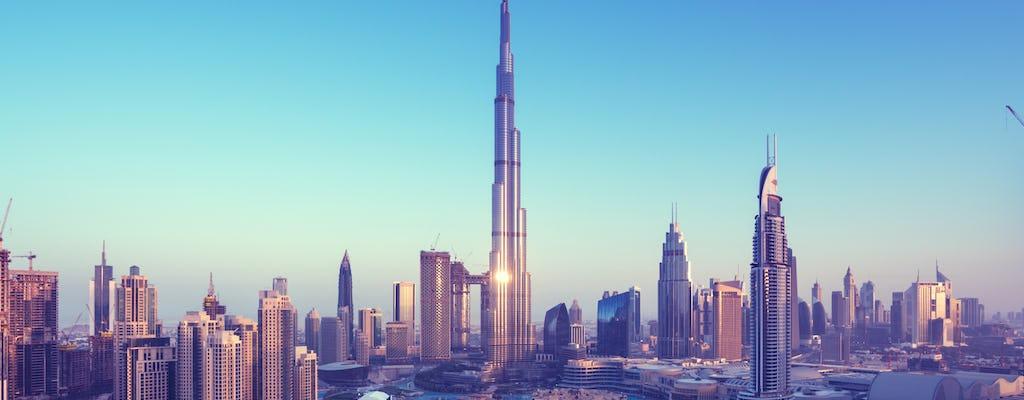 In the Top Burj Khalifa e safári no deserto combo