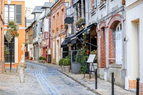 Un tour privato a piedi di 1,5 ore di Honfleur