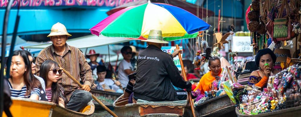 Taling Chan Market and Baan Silapin Tour