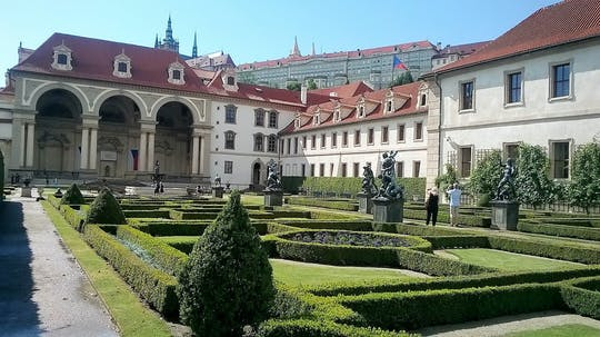 Must-sees of Prague guided tour with Wallenstein Palace Gardens