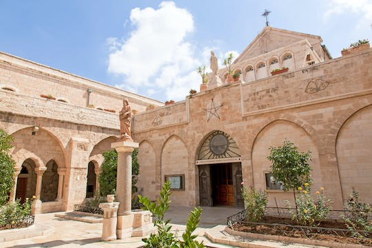 Full- day tour of Bethlehem and Jericho from Jerusalem