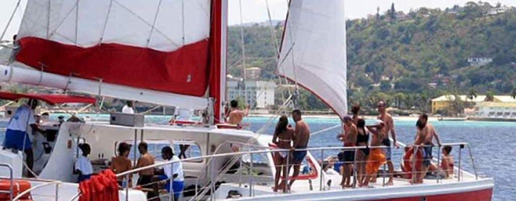 Rejs katamaranem Montego Bay i snorkel