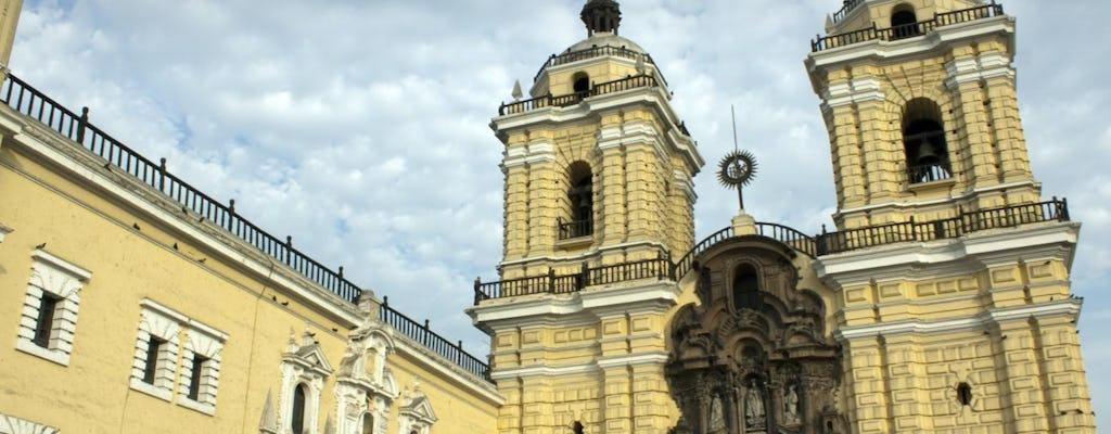 Tour privato della città di Lima per l'intera giornata con la cattedrale, la chiesa di San Francisco e il Museo Larco