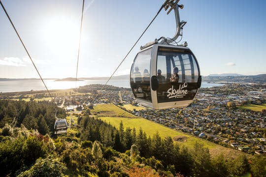 Skyline Rotorua en Velocity Valley Double Adventure Experience