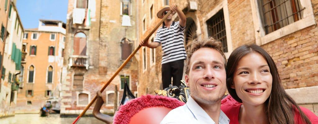 Venice private gondola tour