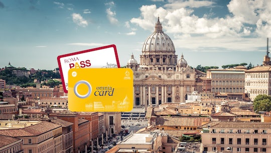OMNIA Vatican and Roma Pass 72 hours with transport