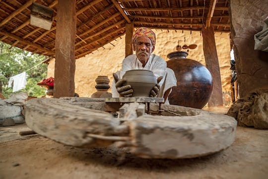 Local Crafts Centre tour at the Ranthambore National Park