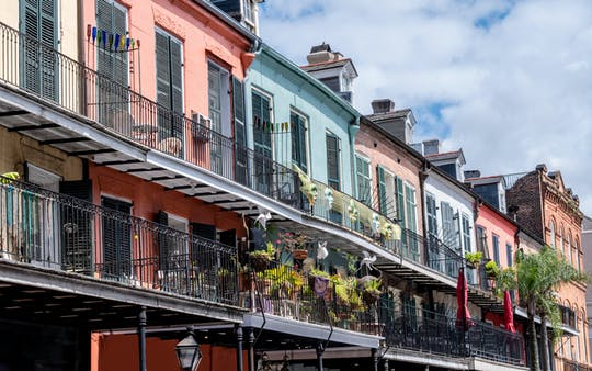 New Orleans French Quarter and Marigny carriage tour