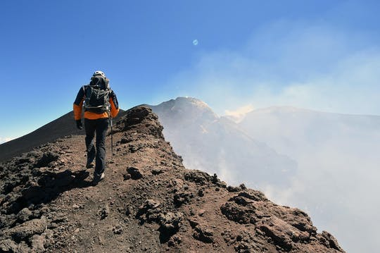 Etna summit craters trekking