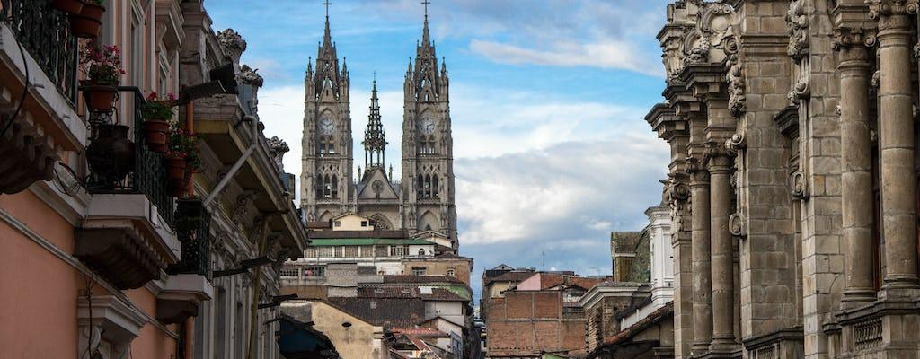 Visite en tramway de Quito